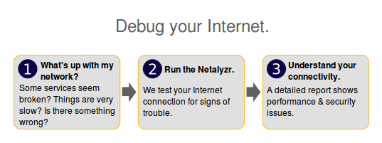 Debug your Internet bugs and vulnerabilities with ICSI Netalyzr 1