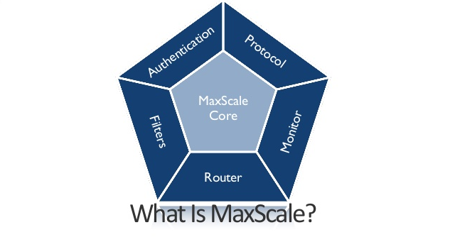 Photo Credits: MariaDB MaxScale