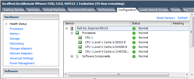 ESXi installation on my Dell Laptop and hands on VMware Labs 5