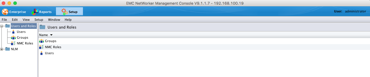Installing the Networker Management Console (NMC) on CentOS 7 7