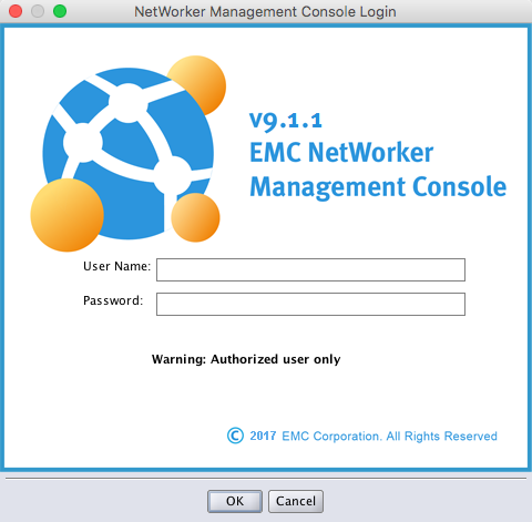 Installing the Networker Management Console (NMC) on CentOS 7 11