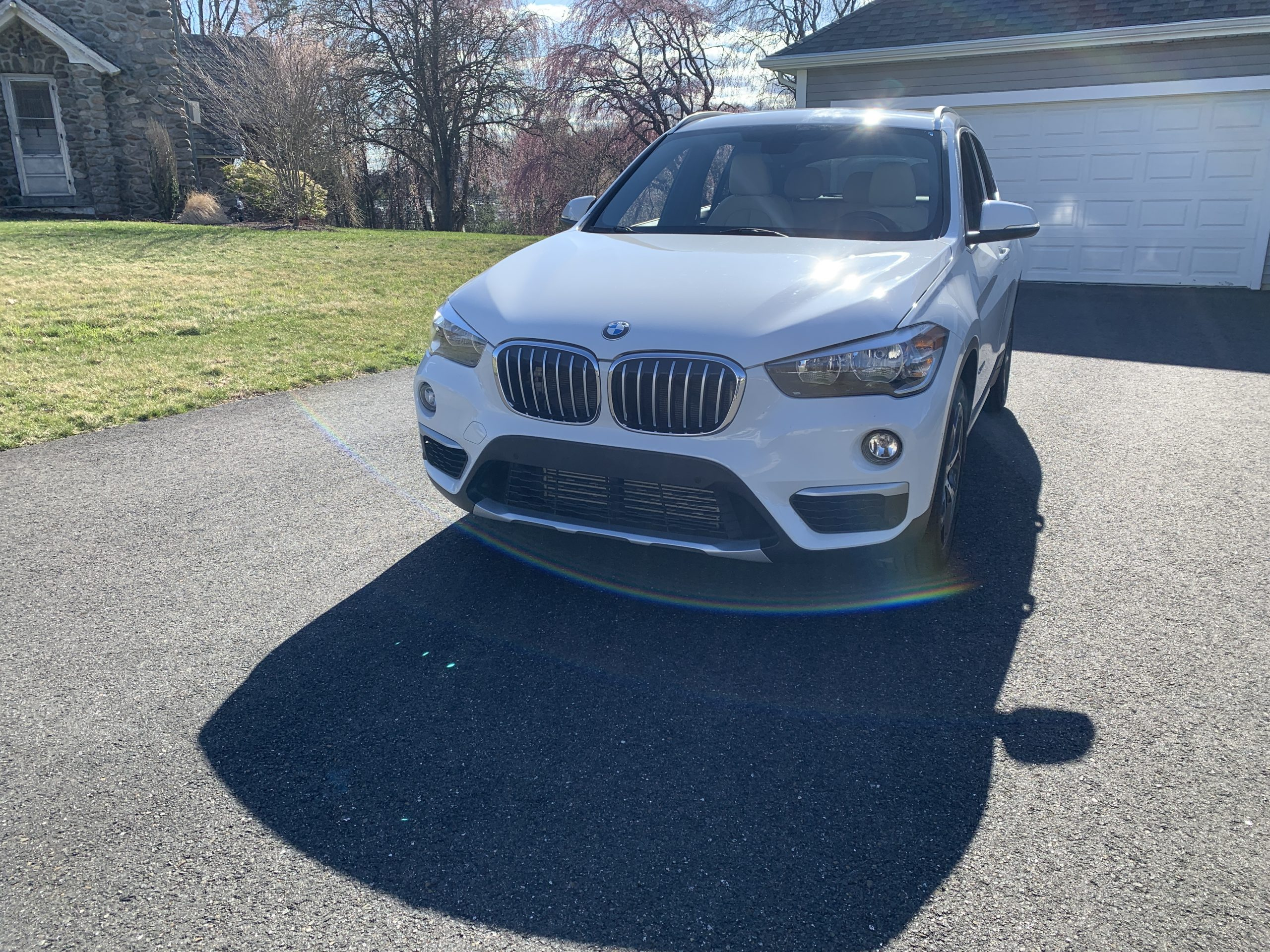 front view of my BMW X1