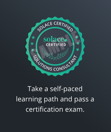 Solace Certified Solutions Consultant